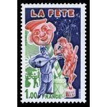 Francobolli francesi N ° 1888 Nuevo non linguellato