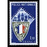 Sellos franceses N ° 1.907 nuevos sin charnela