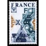French stamps N° 1909 Mint NH
