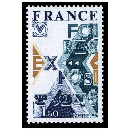 Timbre France N° 1909 neuf sans charnière