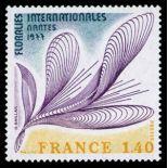 Sellos franceses N ° 1.931 nuevos sin charnela