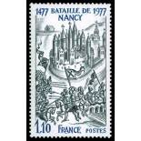 Sellos franceses N ° 1943 nuevos sin charnela