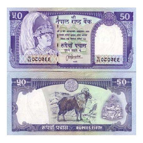 Billets banque NEPAL Pk N° 33 - 50 Rupees