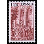 Francobolli francesi N ° 2049 Nuevo non linguellato