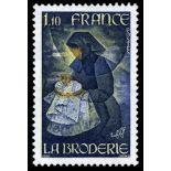 Francobolli francesi N ° 2079 Nuevo non linguellato