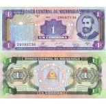 Billets de banque Nicaragua Pk N° 179 - 1 CORDOBA