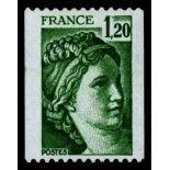 Sellos franceses N ° 2103 nuevos sin charnela