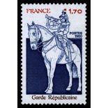 Francobolli francesi N ° 2115 Nuevo non linguellato