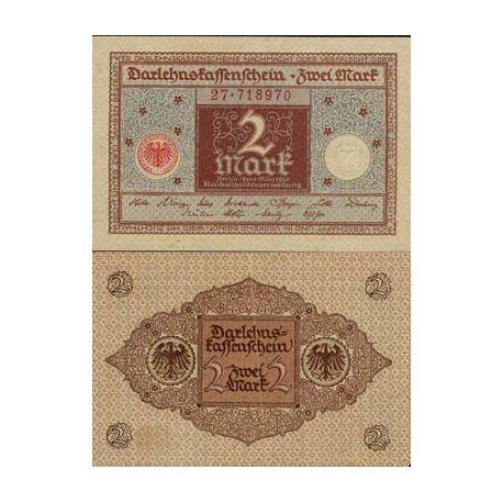 Billets banque Allemagne Pk N° 60 - 2 Mark
