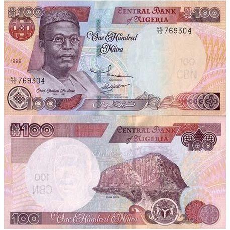 Nigeria - Pk N° 28 - Billet de 100 Naira
