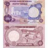 Beautiful banknote Nigeria Pick number 14 - 50 Naira 1973