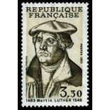 Francobolli francesi N ° 2256 Nuevo non linguellato
