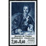 Francobolli francesi N ° 2304 Nuevo non linguellato