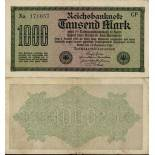 Billets collection Allemagne Pk N° 76 - 1000 Mark