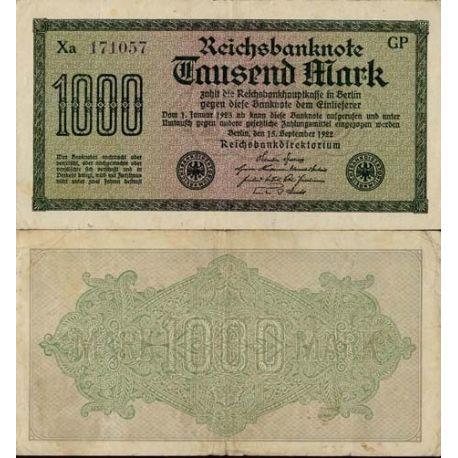 Allemagne - Pk N° 76 - Billet de 1000 Mark
