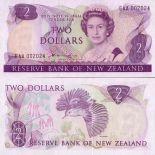 Colección de billetes Nueva Zelanda Pick número 170 - 2 Dollar