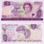 Collection of Banknote New Zealand Pick number 170 - 2 Dollar