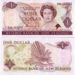 Collezione banconote Nuova Zelanda Pick numero 169 - 1 Dollar
