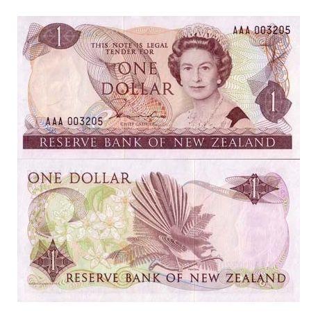 Neuseeland - Pk Nr. 169-1-Dollar-note
