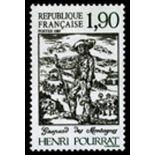 Francobolli francesi N ° 2475 Nuevo non linguellato