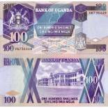 Billet de collection Ouganda Pk N° 31 - 100 Shillings