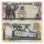 Billets de banque Ouganda Pk N° 35 - 500 Shillings