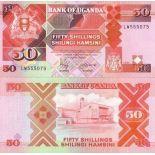 Banknote Uganda Pick number 30 - 50 Shilling
