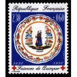 Francobolli francesi N ° 2646 Nuevo non linguellato