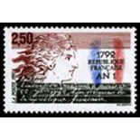 Francobolli francesi N ° 2771 Nuevo non linguellato