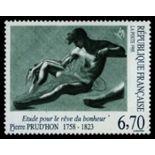 Francobolli francesi N ° 2927 Nuevo non linguellato
