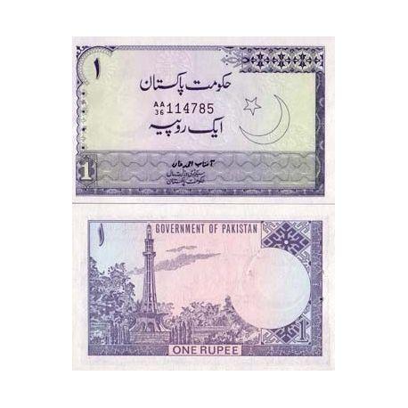 Billets collection Pakistan Pk N° 24 - 1 Ruppee