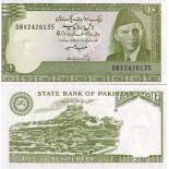Banknote collection Pakistan Pick number 39 - 10 Roupie