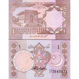 Billet de collection Pakistan Pk N° 27 - 1 Ruppee