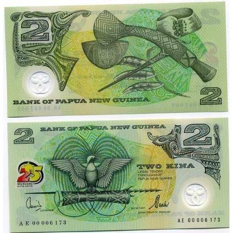 Papua-Neuguinea - Kina Banknote Pk Nr. 21 - 2