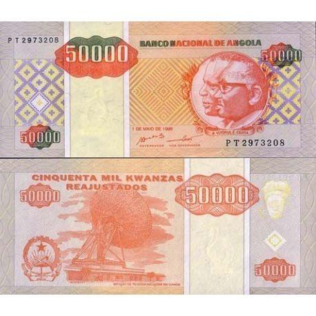 Angola - Pk N° 138 - Billet de 50000 Kwanzas