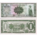 Colección Billetes Paraguay Pick número 193 - 1 Guarani