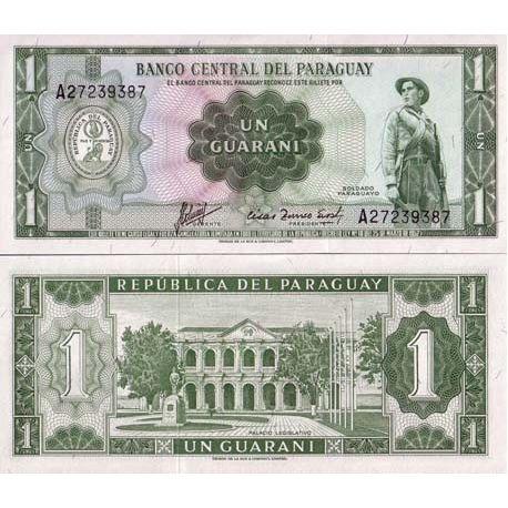 Paraguay - Pk # 193 - 1 ticket Guarani