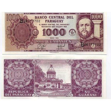 Paraguay - Pk N° 214 - Billet de 1000 Guaranis