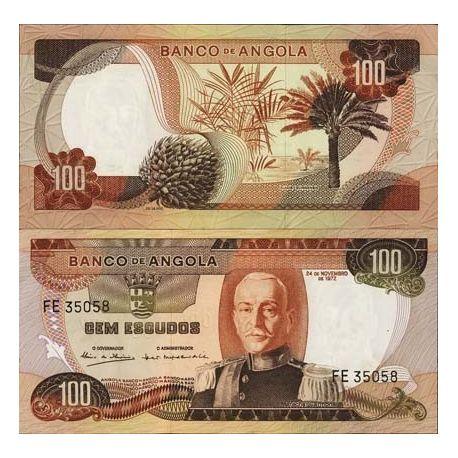 Billet de collection Angola Pk N° 101 - 100 Escudos
