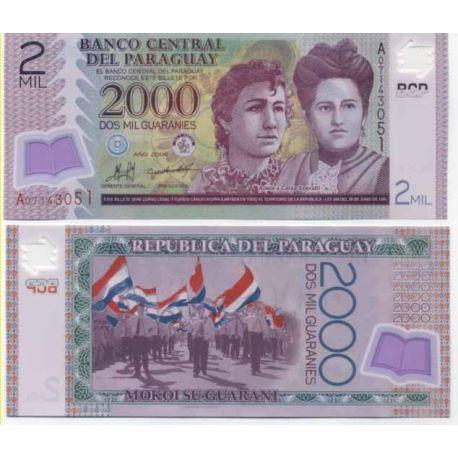 Paraguay - Pk No. 9999 - 2000 Ticket Guaranies