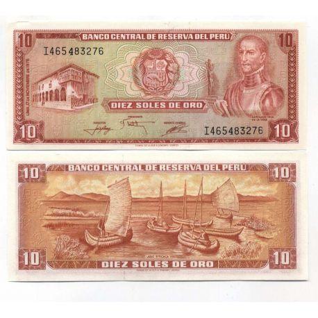 Peru - No. 100 Pk - 10 soles ticket