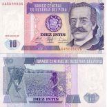 Sammlung von Banknoten Peru Pick Nummer 129 - 10 Sol