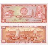 Schone Banknote Peru Pick Nummer 112 - 10 Sol