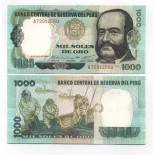 Billets de banque Perou Pk N° 118 - 1000 Soles