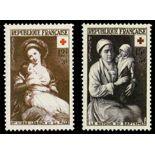 Timbres France Série N° 966/967 neuf sans charnière