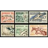 Timbres France Série N° 960/965 neuf sans charnière
