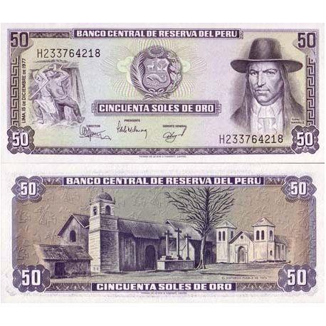 Peru - Pk No. 113 - 50 Note Soles