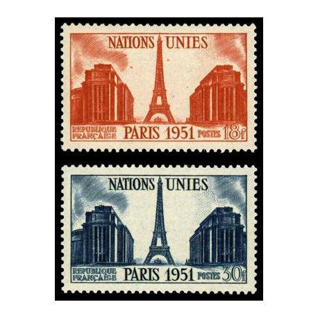 Timbres France Série N° 911/12 neuf sans charnière