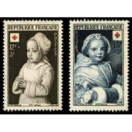 Timbres France Série N° 914/915 neuf sans charnière