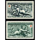 Briefmarken Reihe von France N ° 937/938 Postfrisch